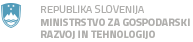 Ministrstvo za gospodarski razvoj in tehnologijo Republike Slovenije - logo